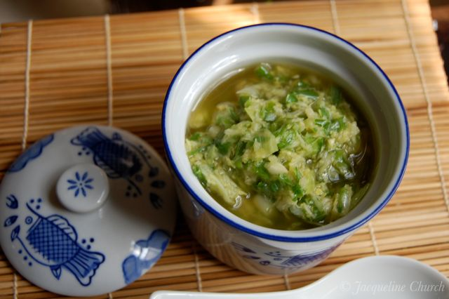 ginger-scallion