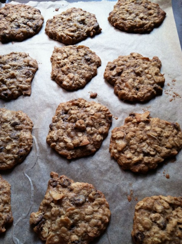 Oatmeal Raisin Cardamom Cookies