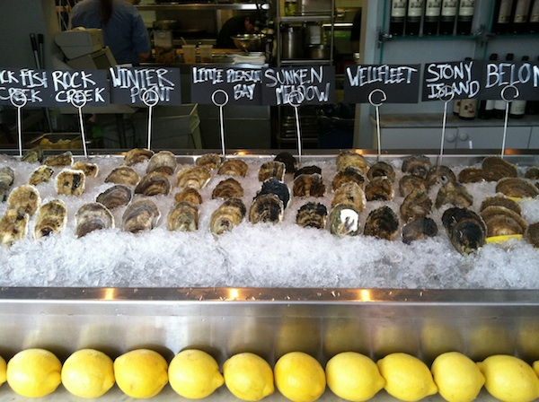 Excellent Oyster Selection