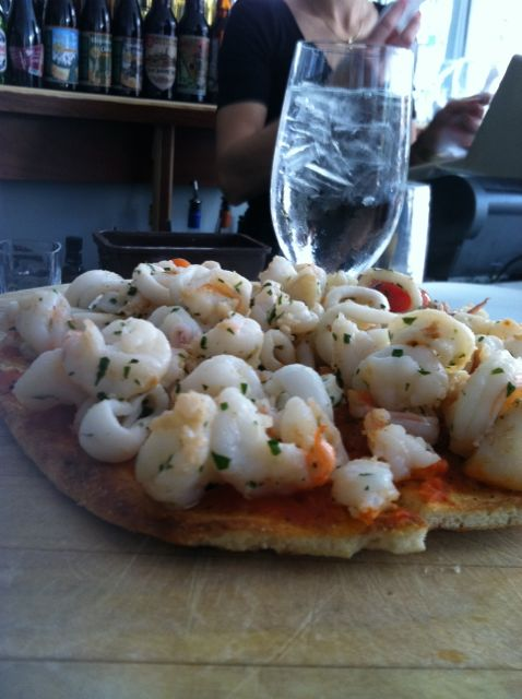 pizza shrimp