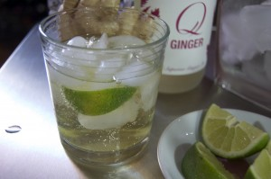 Q Ginger Moscow Mule