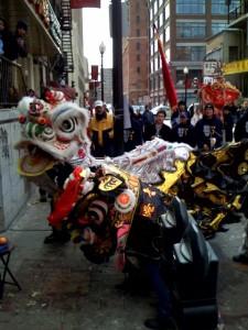 lion dance 2008