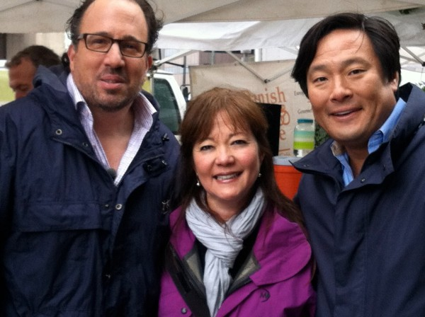 Chef Michael Schlow, Chef Ming Tsai, Me