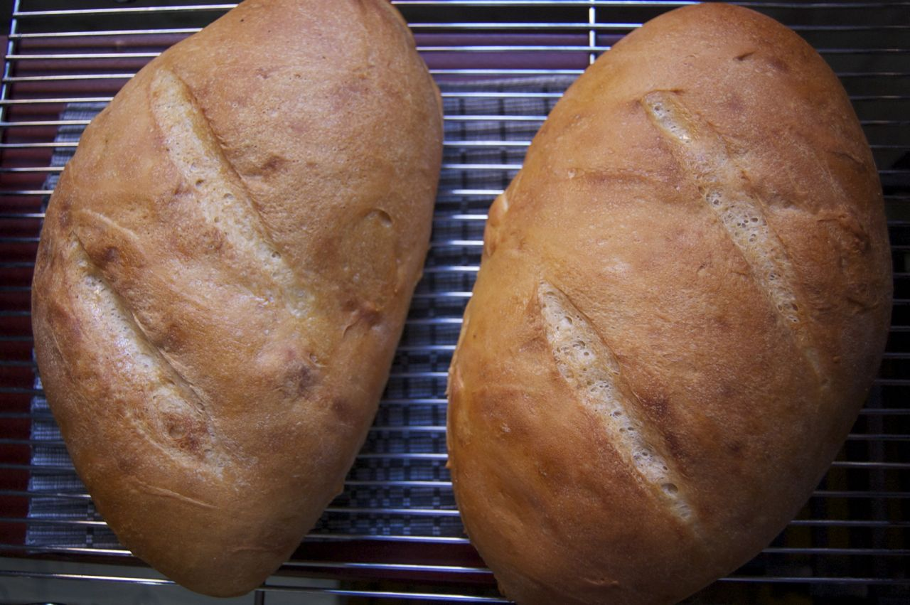 Boston Strong Starter First loaves