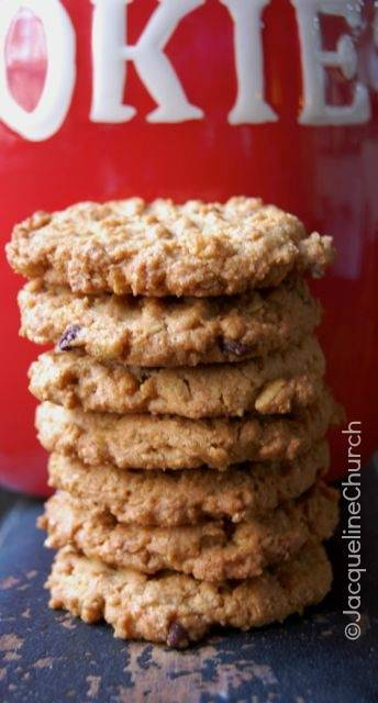 Peanut Butter Cookies Stack