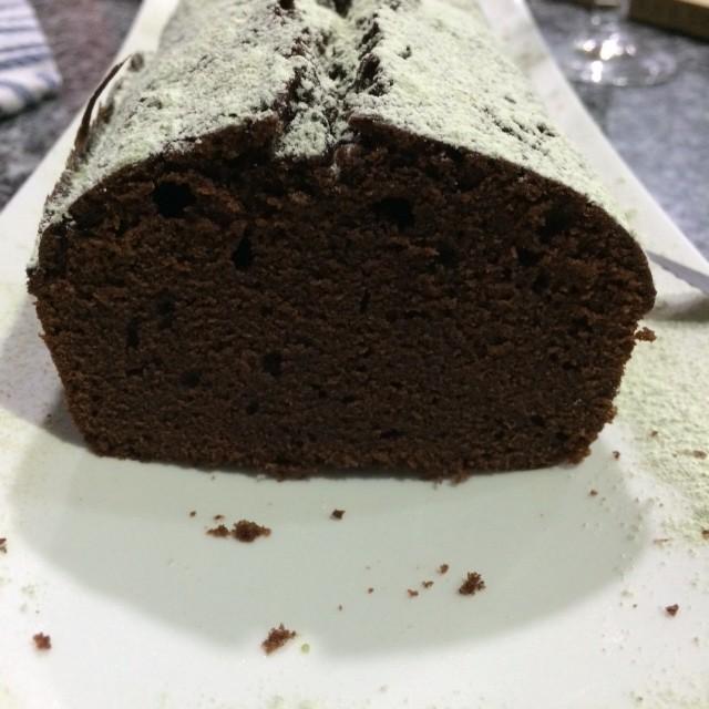 choc velvet pound cake
