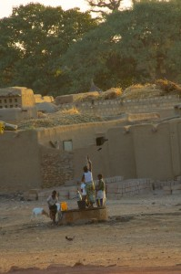 Bandiagara well