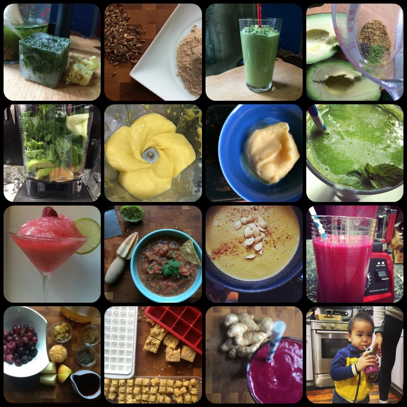 Vitamix Collage
