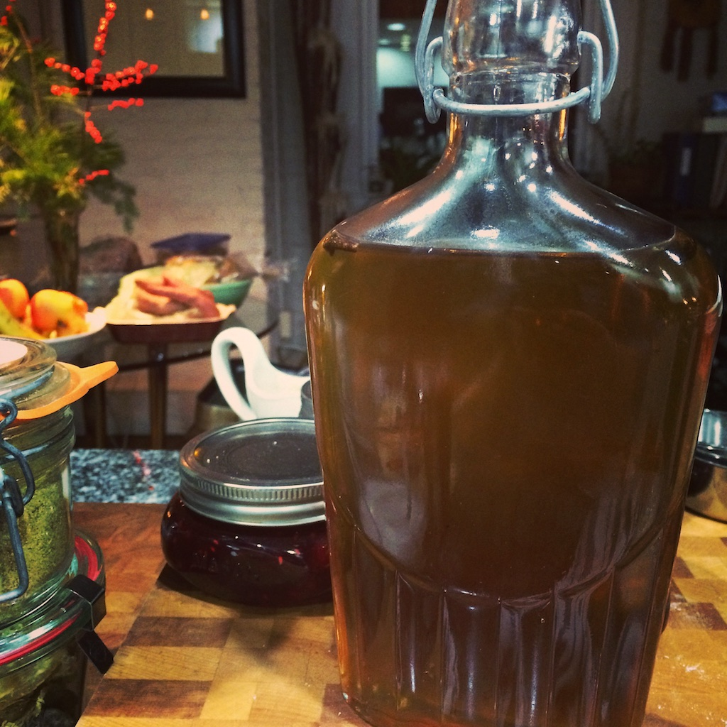 Spiced Apple Simple Syrup