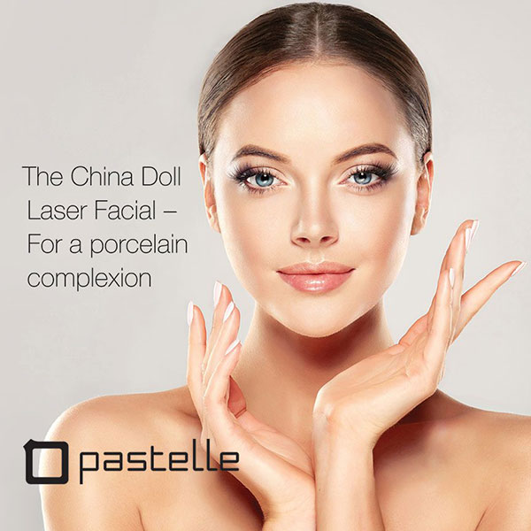Pastelle China Doll facial about face skin and hair