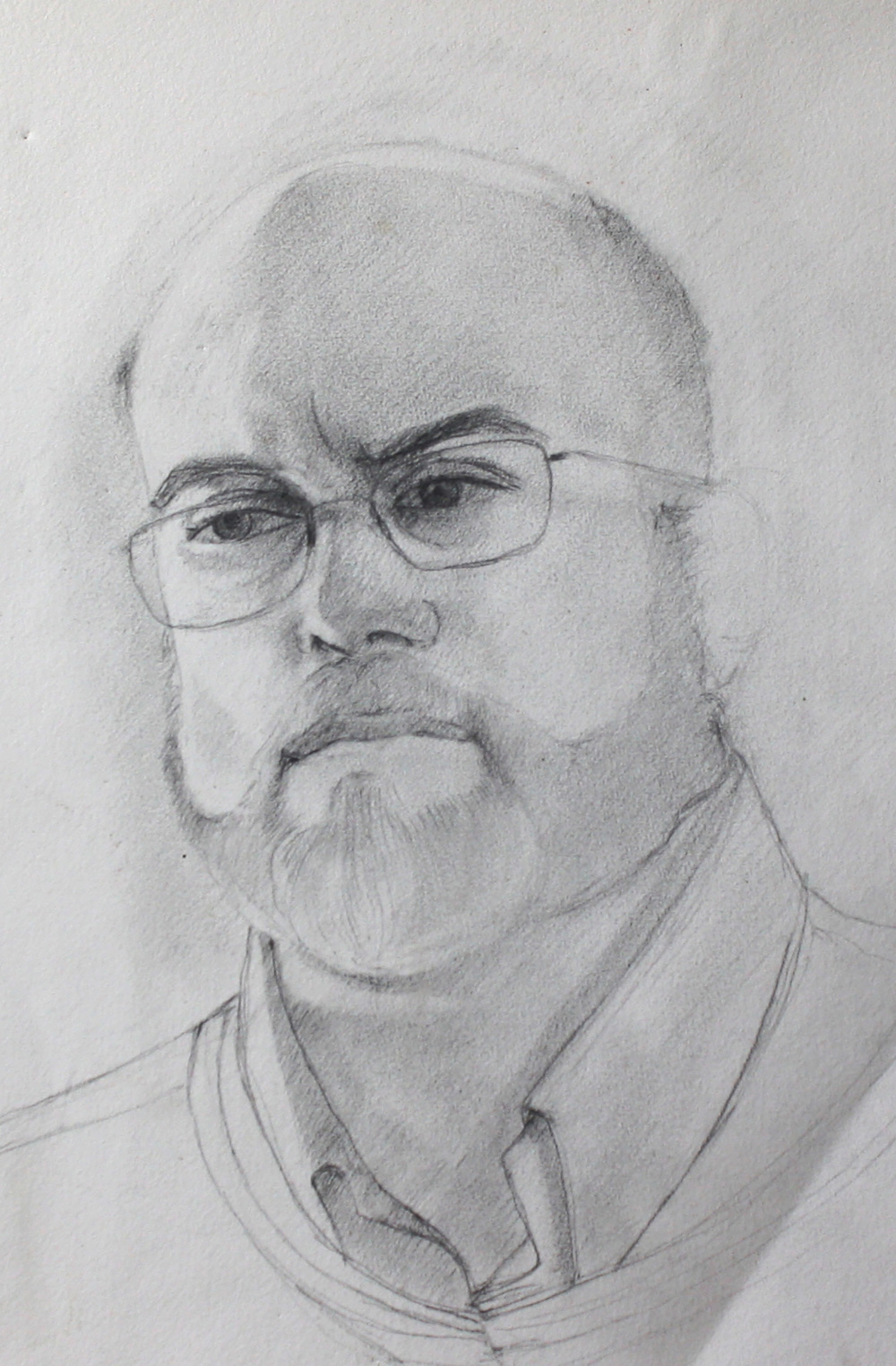 "B.S.   Dimensions: 17""x11""  Medium: Graphite on Paper  Year: 2011"