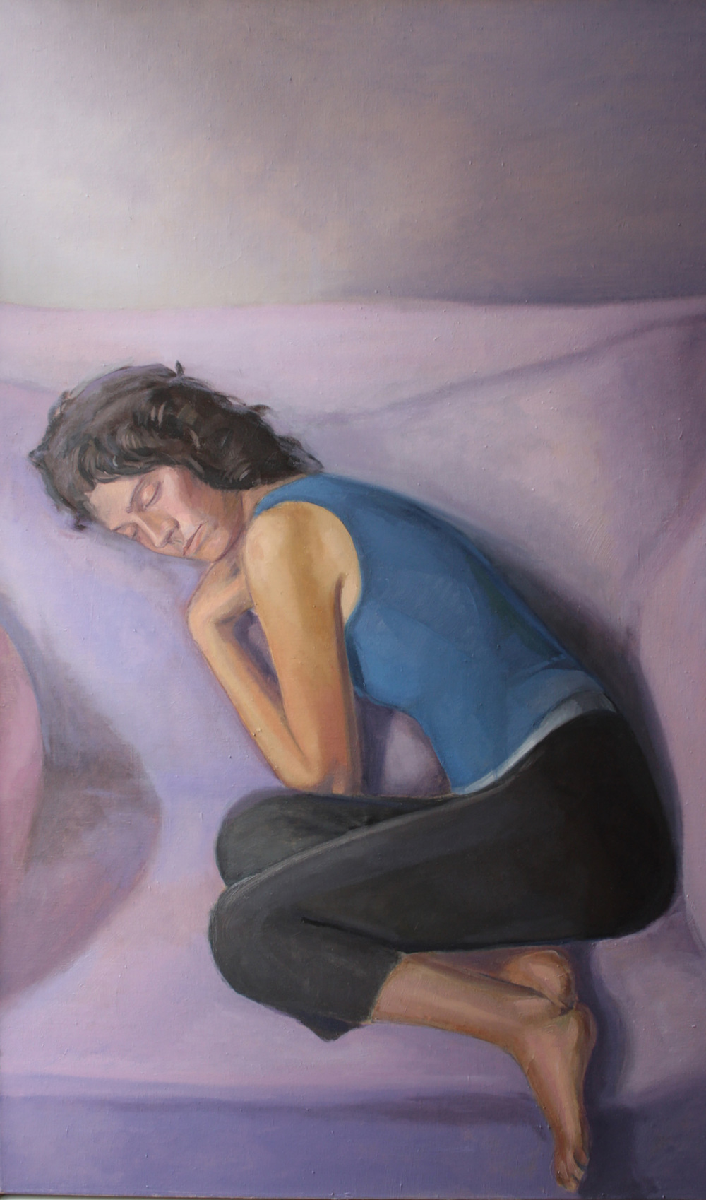 "Dream Laura   Dimensions: 50""x30""  Medium: Oil on Linen  Year: 2012"
