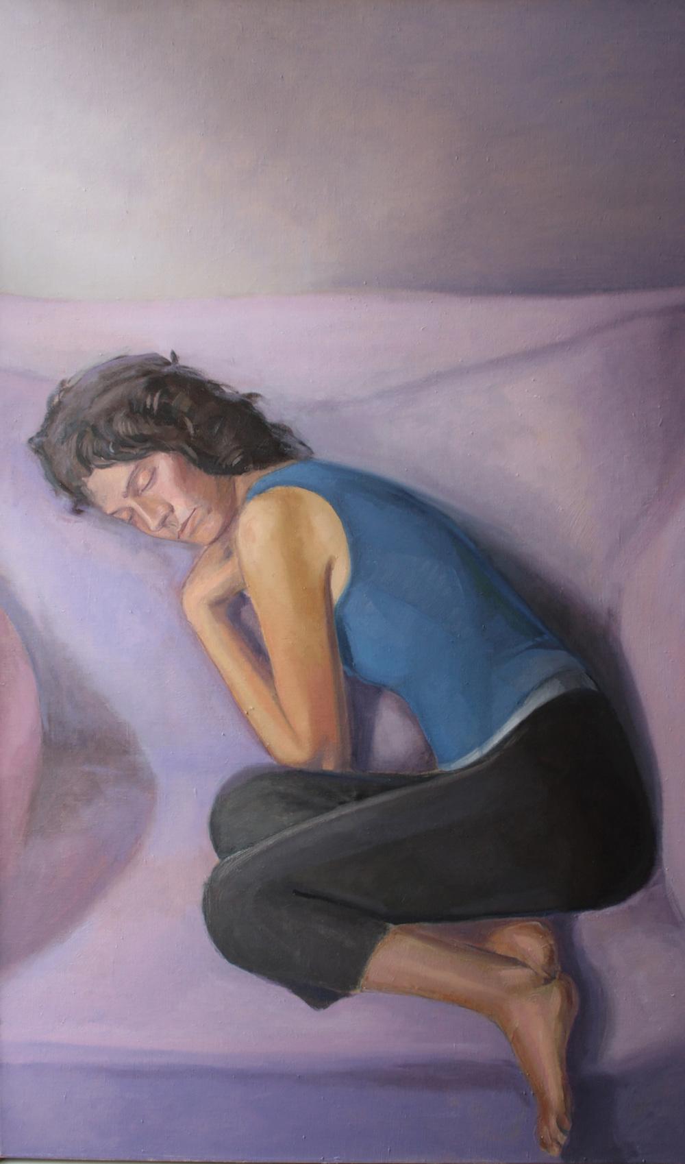 "Dream Laura   Dimensions: 50""x30""  Medium: Oil on Linen  Year: 2012"
