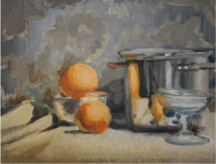 "Size:  18""X24""   Medium:  Oil on canvas  School : Arcacdia University, 2015"