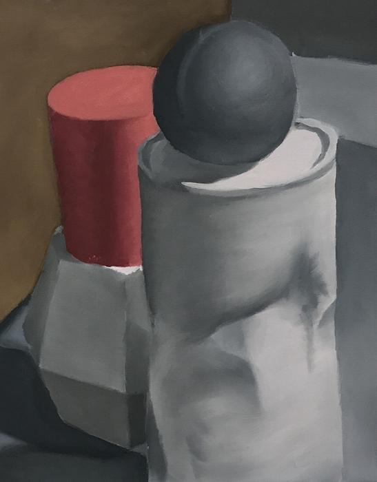 """Size:  12""""X9""""   Medium:  Oil on canvas  School:  Southeastern Louisiana University, 2017"""