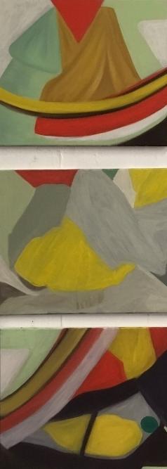 "Size: 16x20"", 16""x20"", 16""x20""   Medium:  Oil on canvas  School: Southeastern Louisiana University,2017"