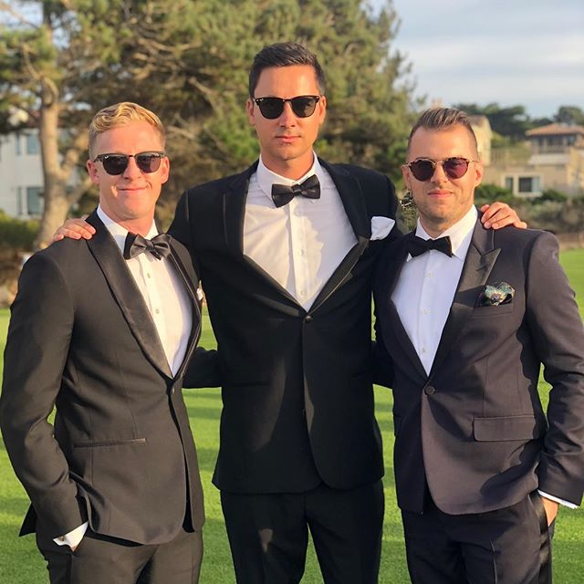 Congrats @jeffmorrisjr & @simonelo ! #thecaliforniawedding