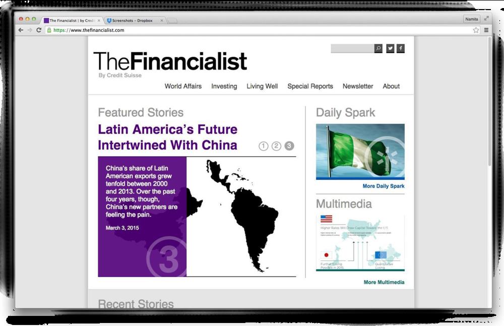 The Financialist, Credit Suisse