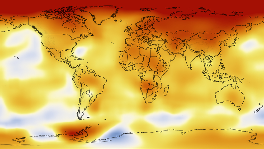 NASA has dedicated a unique address just for explaining climate change - with measurements taken from their OCO2 satellite and others.