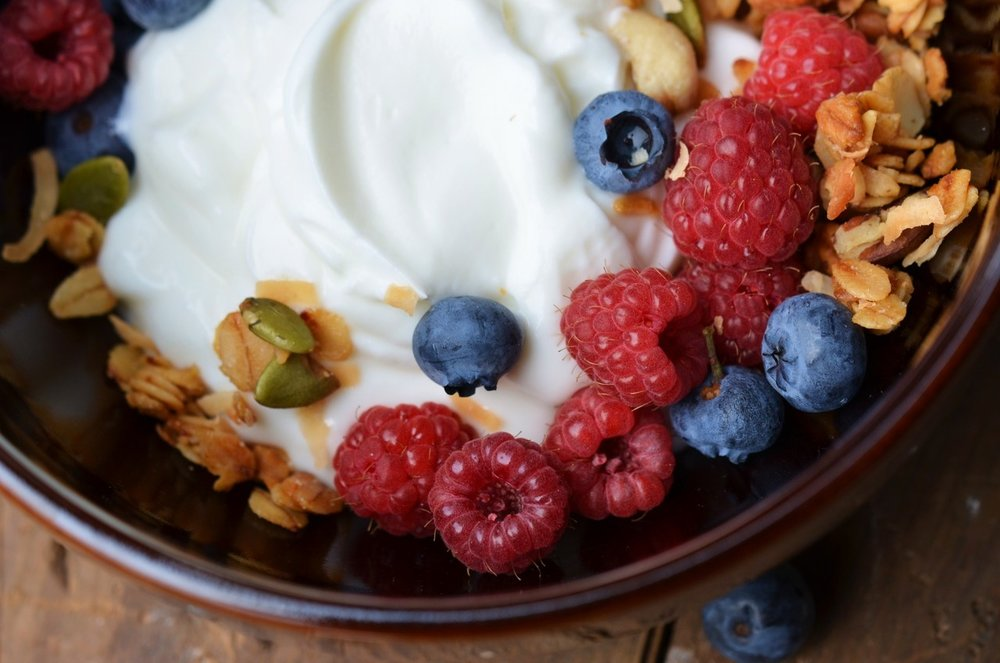 4. Greek yogurt