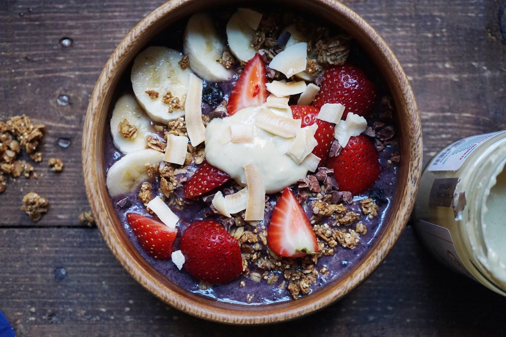 4.  Purple Love Acai Bowl.  Recipe  here .