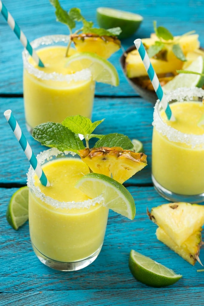 3. Pineapple Coconut Smoothie. See recipe here.