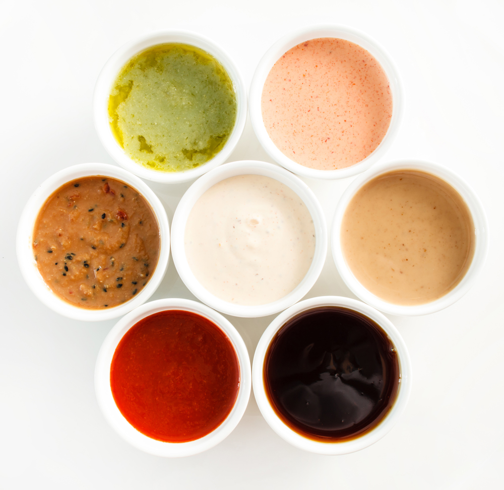 5. Sauce Boss. With different sauces and a little creativity, you can transform the same food into various tasty meals.