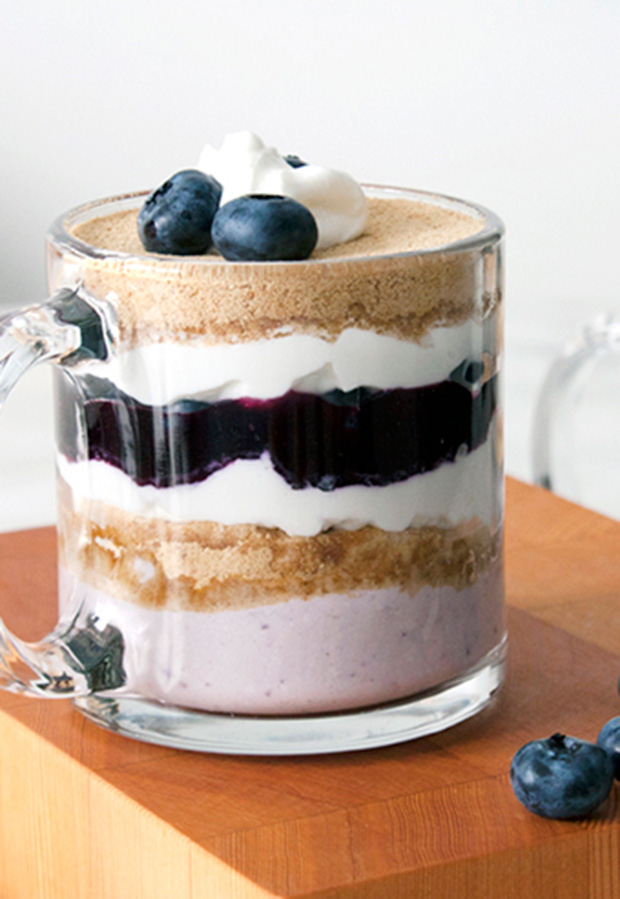 1.  Low-Calorie Blueberry Yogurt Parfait . See recipe  here .