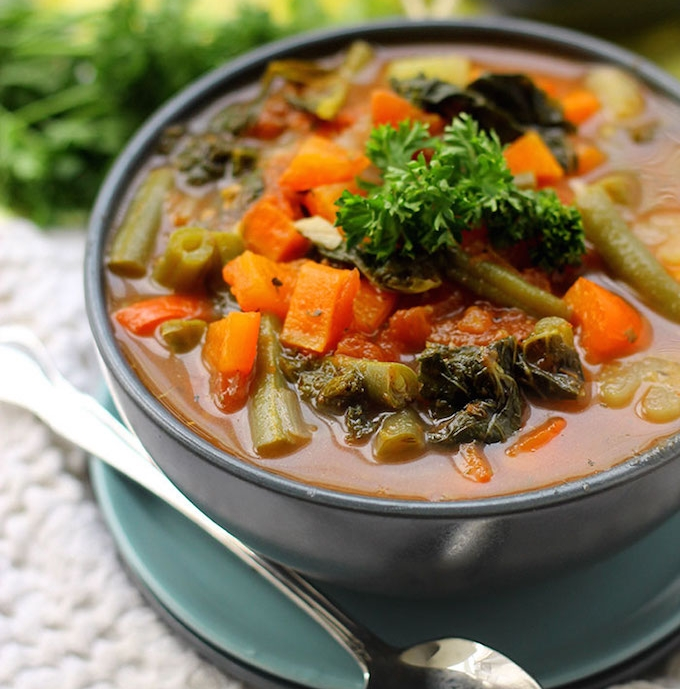3.  Detox Vegetable Soup . See recipe  here .