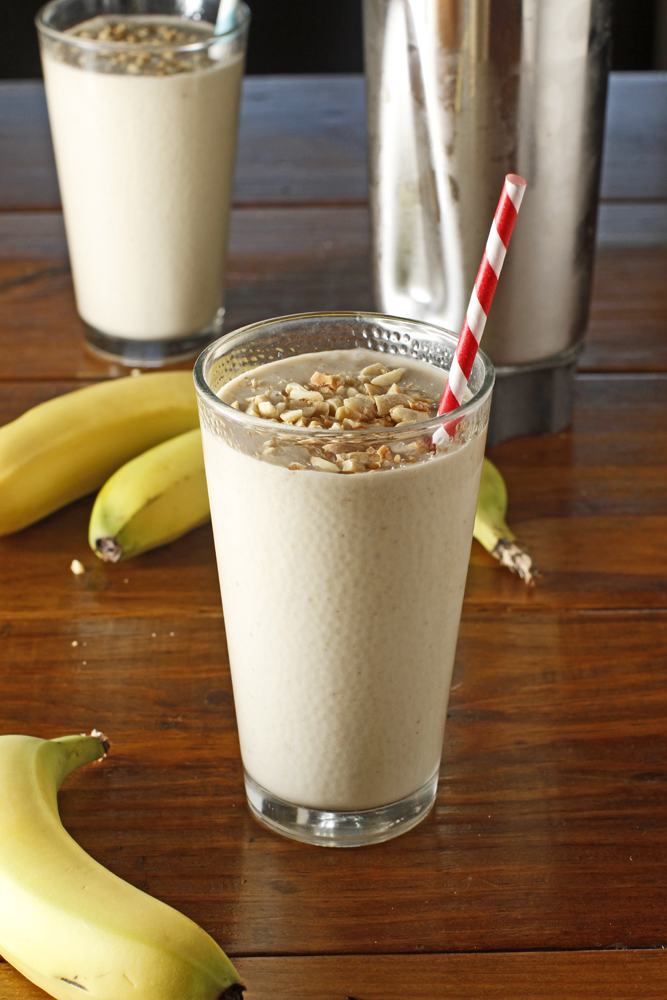 3.  Peanut Butter and Banana Smoothie . See recipe  here .