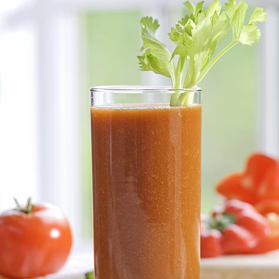 4.  Tomato Vegetable Juice.  See recipe  here .