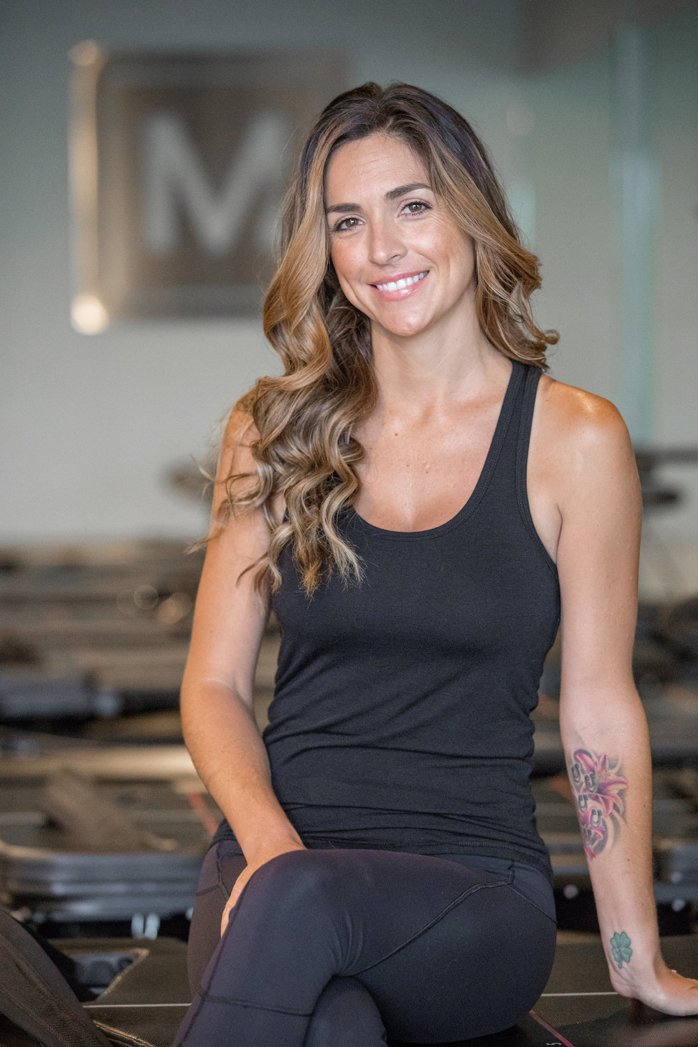 Stacy  | trainer   Hometown:  Burbank, Ca   I motivate for:  a Healthy Mind, Body and personal strength   Fave Mega Move:  Cobra   3 Things to Know:   1. I love my Mustangs!  I've had horses my whole life.  I grew up showing Dressage but now enjoy camping with them and my 2 pitbulls, Howlle Berry and Droolia Roberts.    2. I love DIY projects  3. I was in Show Choir in High School and studied dance in college.   @stacywhite26