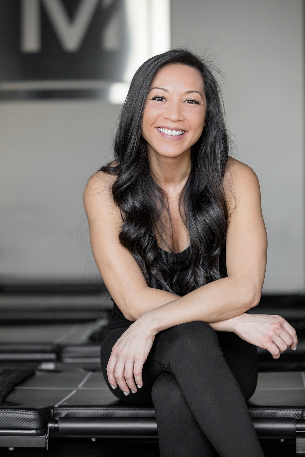 Kim  | trainer   Hometown : Upland, CA   I motivate for : Commitment. It's like a relationship; you can't cheat and expect it to work.   Fave Mega Move : Back lunge - let's get that booty right!   3 Things to know:   1. I love food  2. I'm deathly afraid of bugs  3. I constantly mispronounce words   @kim_thien_mints