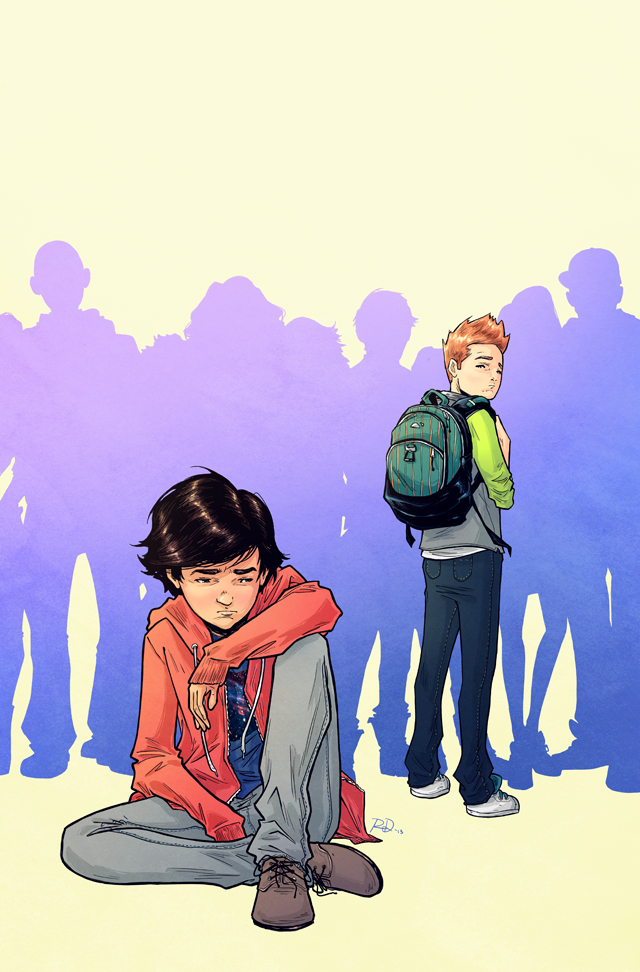 Adolescence #2 cover, digital<br>Comic book written by Polly Bruce, 2013