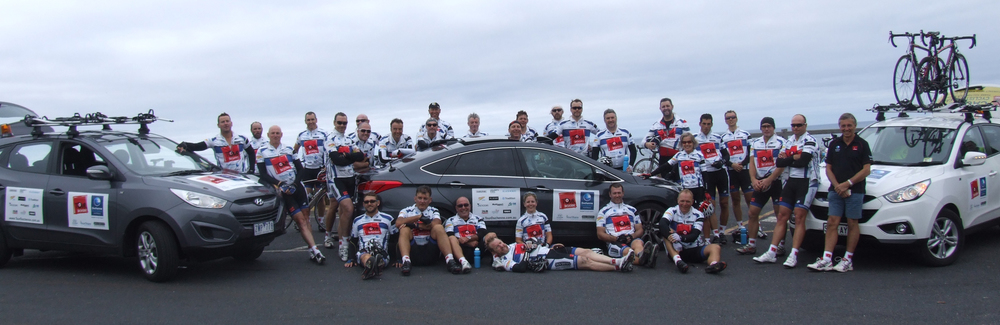 Tour Duchenne 2014 - 1200 km Adelaide to Melbourne in 8 days!