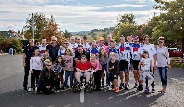 Tour Duchenne 2017 - a lap of Tasmania!