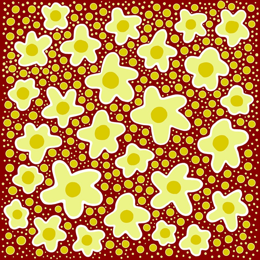 Yellow Star Patterns