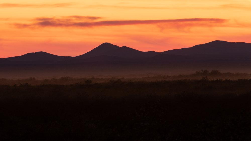 Sunset Organ Mountains 01