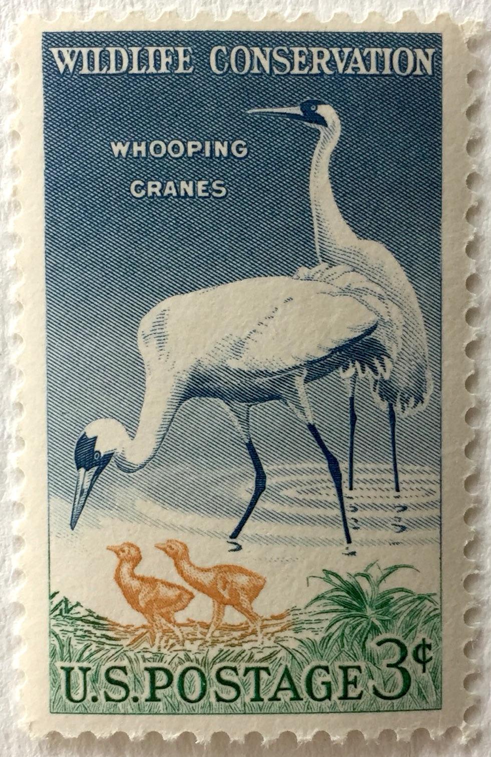 Whooping Crane Stamp