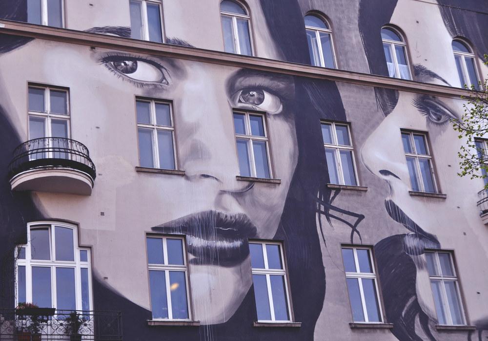 Building Street Art - Bülowstraße, Berlin