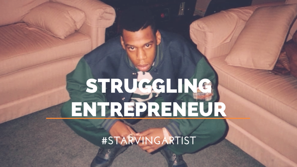 Struggling Entrepreneur