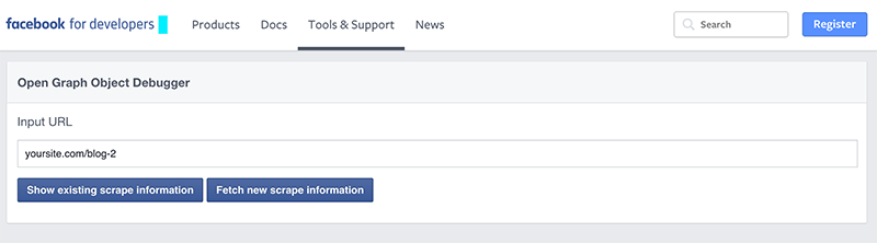 social media debugger facebook high season