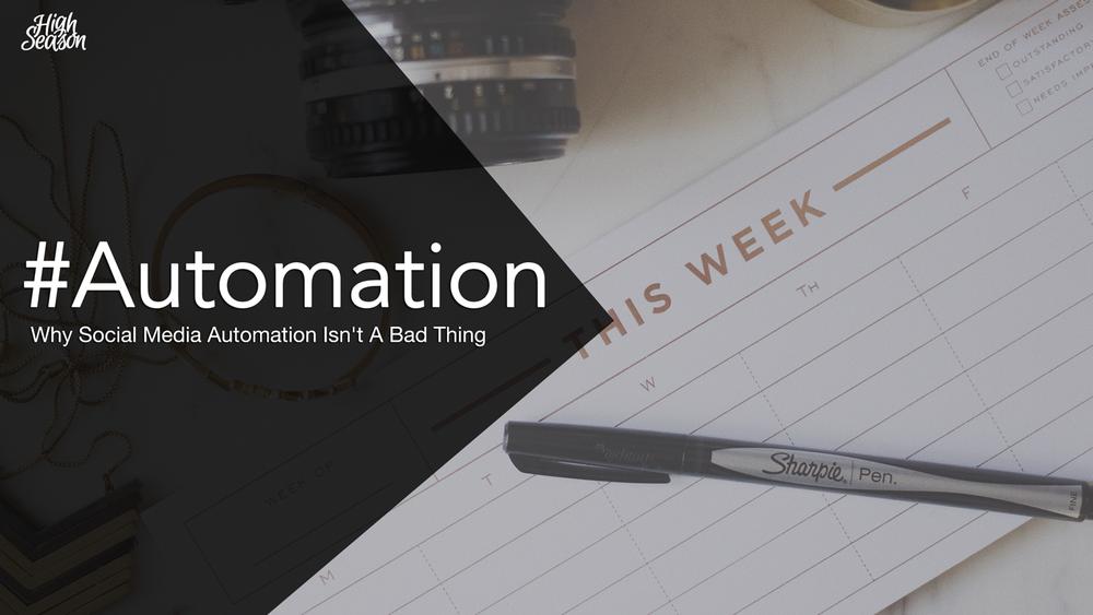 Automation-social-media-planning