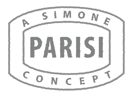 A Simone Parisi Concept - Passport Stamp Graphic/Logo - Grayscale
