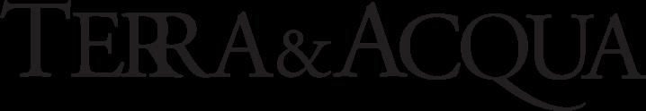 Terra & Acqua Logo - Grayscale