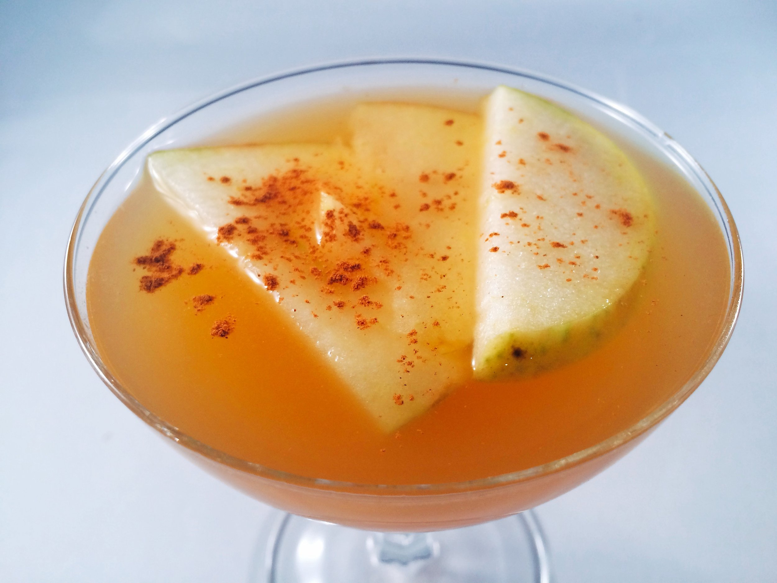 Autumn Apple Whiskey Cocktail | Vegan | Gluten-Free