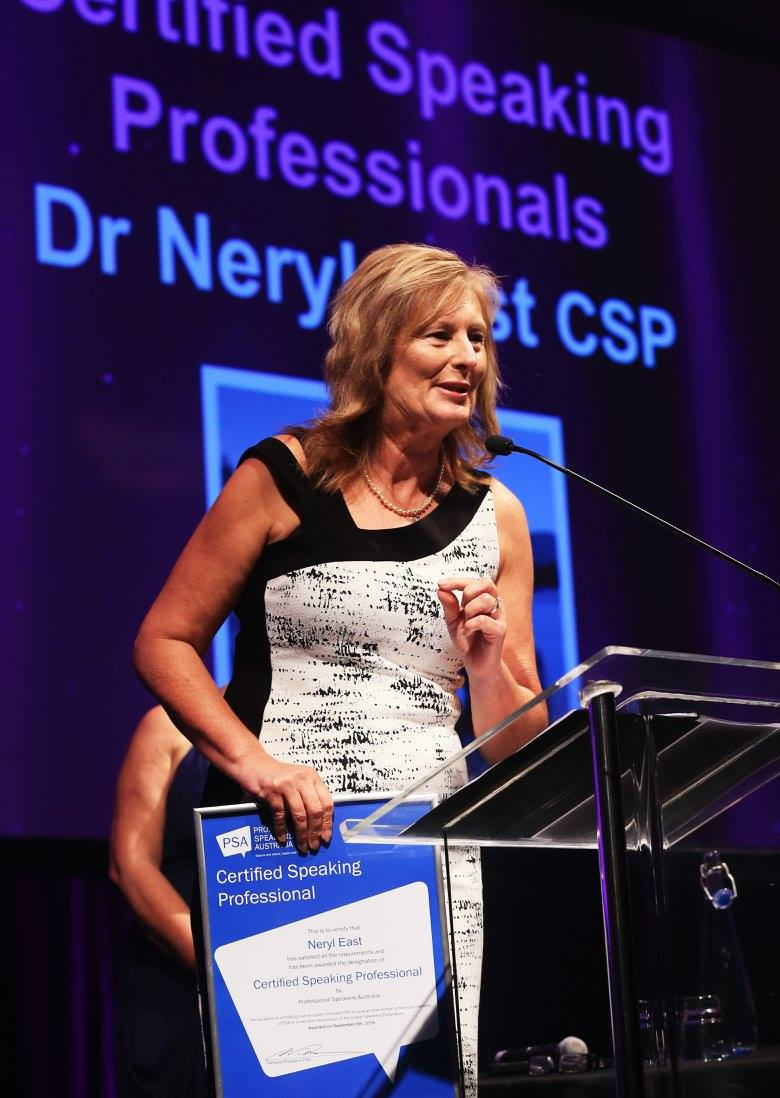 - Neryl is a Certified Speaking Professional (CSP) - an international designation bestowed on only a small percentage of outstanding speakers worldwide.