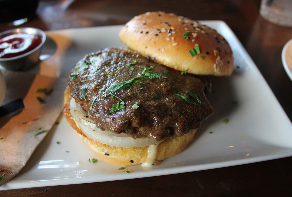 BONE MARROW BURGER —   highlighted with     bone marrow porcini butter (limited availability)
