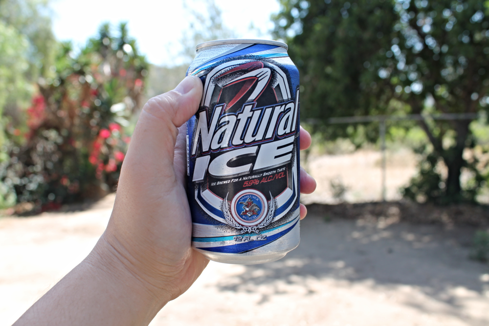 What's a BBQ without some thirst-quenching Natty Ice!!