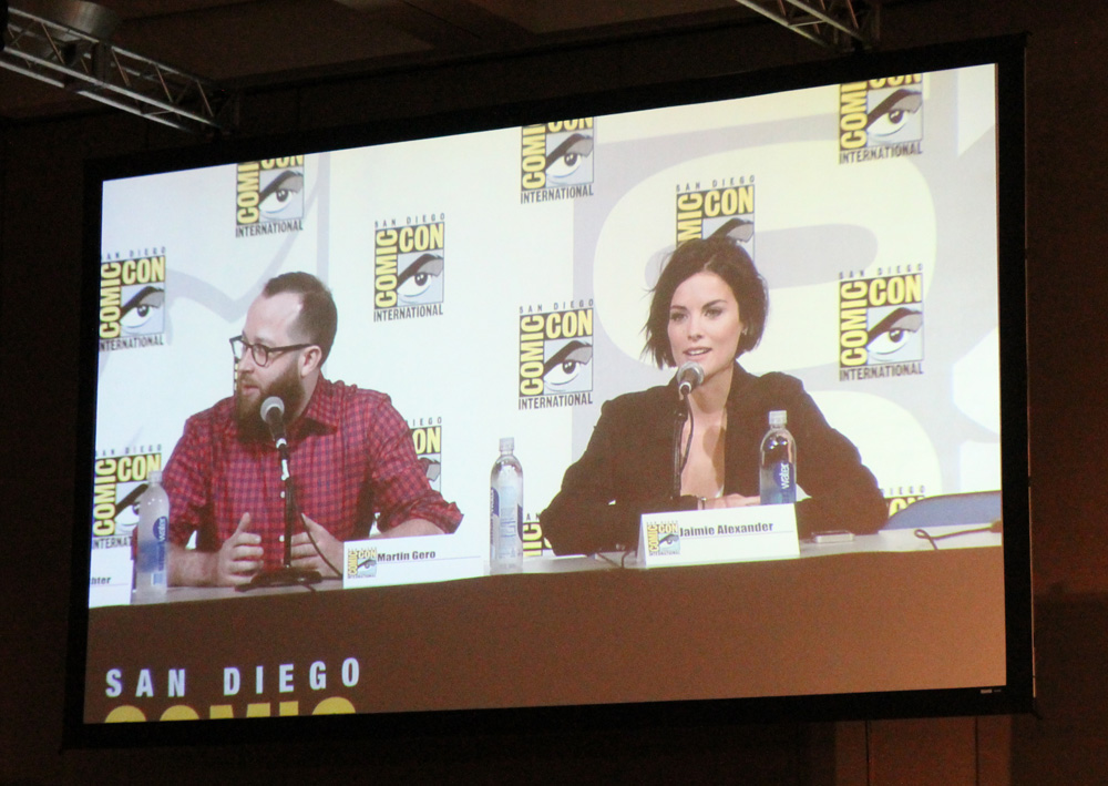 The producers and the main star  Jaimie Alexander  talked about all the juicy details of the pilot episode. I liked it a lot and I look forward to watching the series later this year.